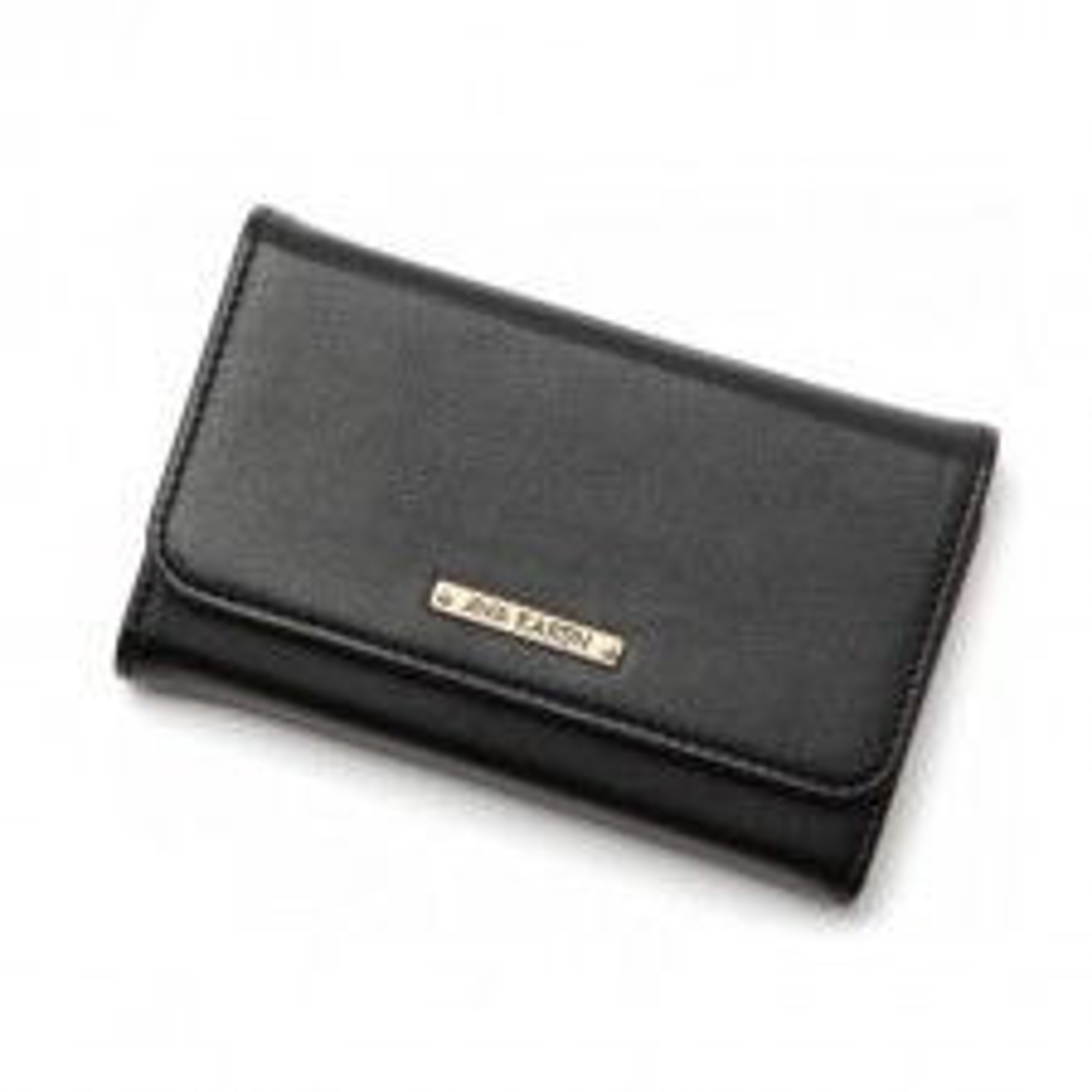 Чехол-бумажник SPIGEN для iPhone 4s / 4 - Ava Karen - Черный - SGP08523