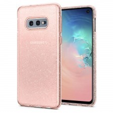 Чехол-капсула SPIGEN для Galaxy S10e - Liquid Crystal Glitter - Розовый кварц - SGP-609CS25835