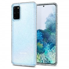Чехол-капсула SPIGEN для Galaxy S20 Plus - Liquid Crystal Glitter - Прозрачный кварц - ACS00752