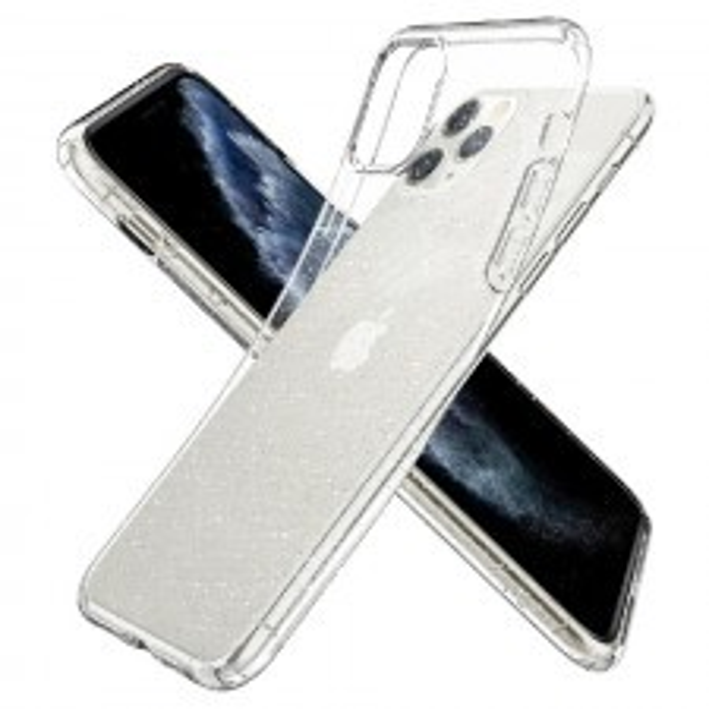 Чехол-капсула SPIGEN для iPhone 11 Pro - Liquid Crystal Glitter - Прозрачный кварц - 077CS27229