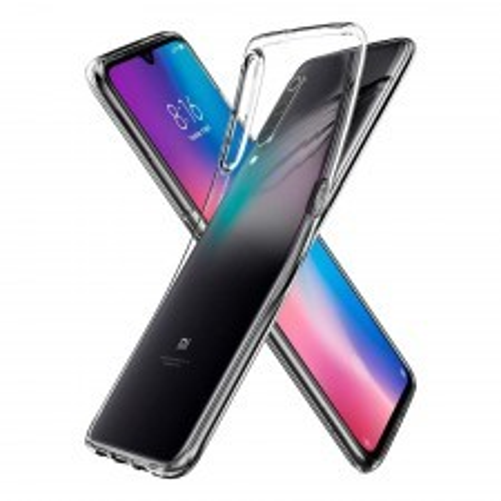 Чехол-капсула SPIGEN для Xiaomi Mi 9 - Liquid Crystal - Кристально-прозрачный - S35CS26087