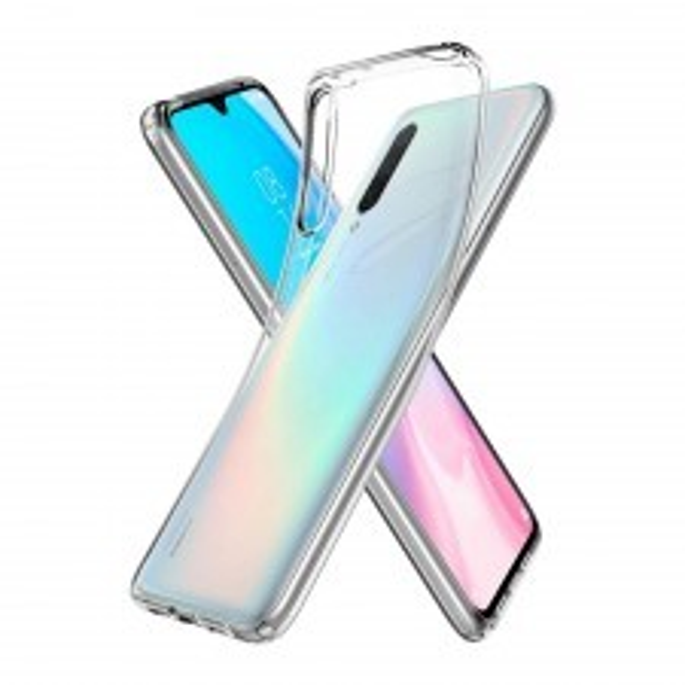 Чехол-капсула SPIGEN для Xiaomi Mi 9 Lite - Liquid Crystal - Кристально-прозрачный - S52CS26401