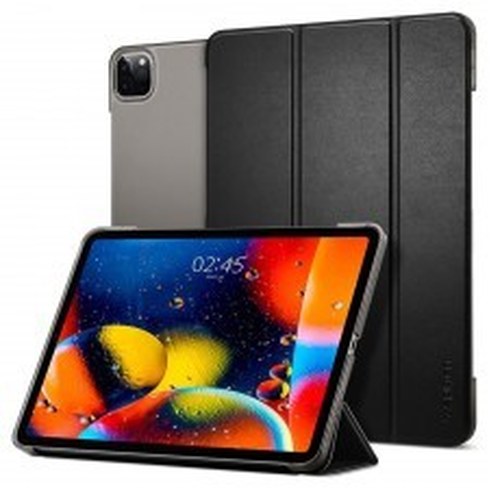 Чехол-книжка SPIGEN для iPad Pro 11 (2020/2018) - Smart Fold - Черный - ACS00894