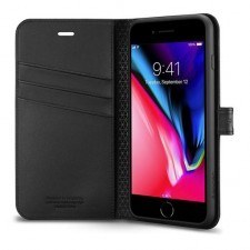 Чехол-книжка SPIGEN для iPhone 8 Plus / 7 Plus - Wallet S - Черный - SGP-055CS22637