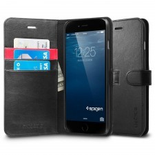 Чехол-книжка SPIGEN для iPhone 6s Plus / 6 Plus - Wallet S - Черный - SGP10918