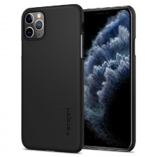 Чехол-накладка SPIGEN для iPhone 11 Pro Max - Thin Fit - Черный - 075CS27127