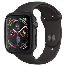 Чехол-накладка SPIGEN для Apple Watch 5 / 4 (40мм) - Thin Fit - Черный - 061CS24484