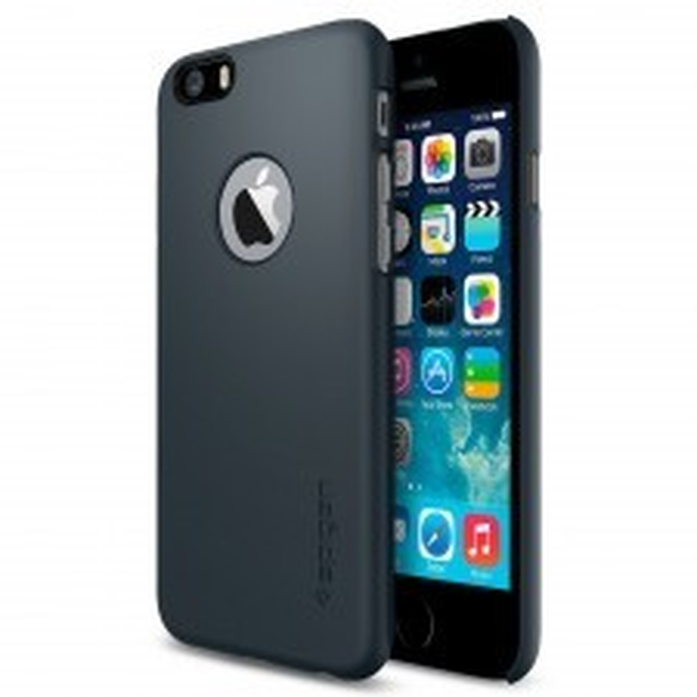 Чехол-накладка SPIGEN для iPhone 6s / 6 - Thin Fit A - Синевато-серый - SGP10941