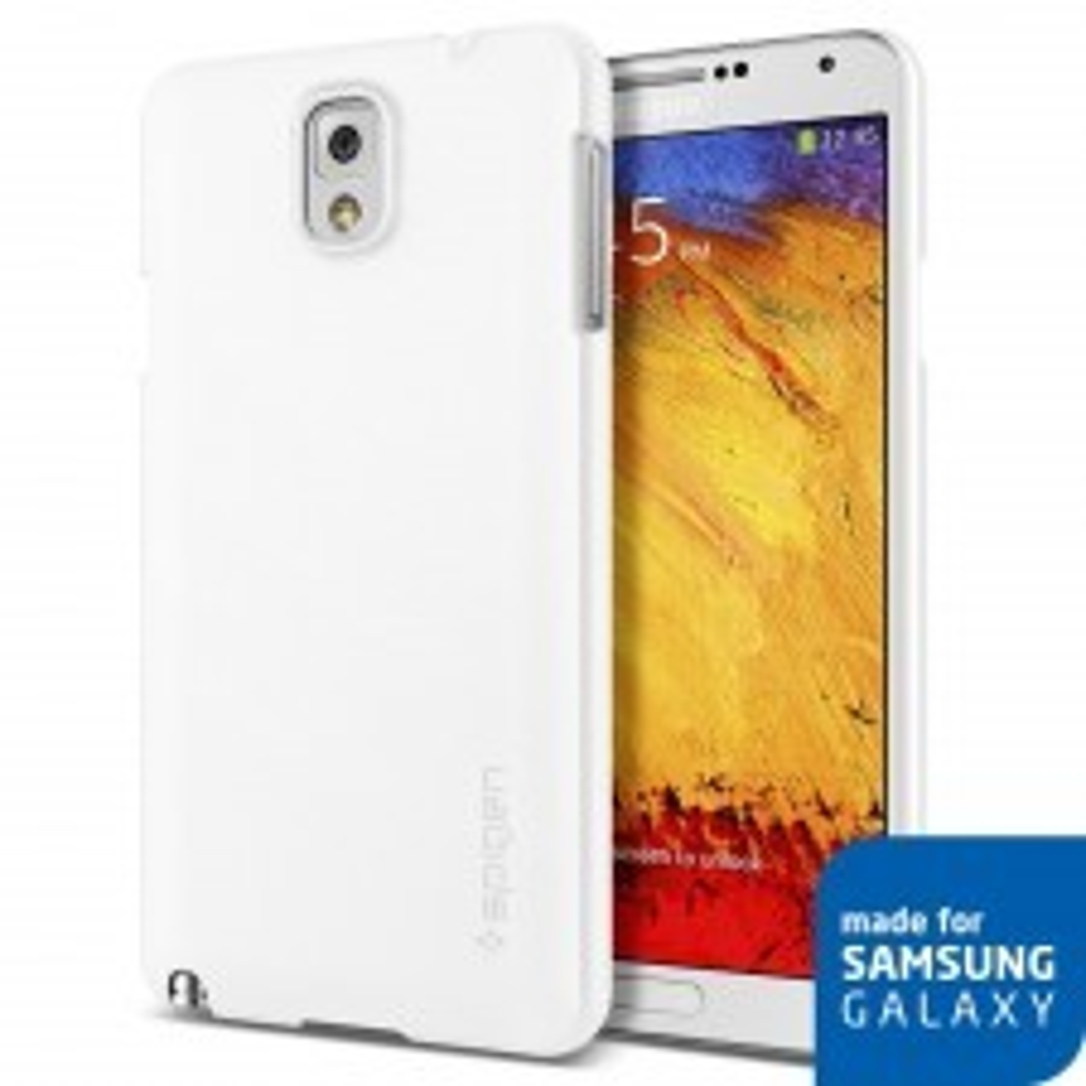 Чехол-накладка SPIGEN для Samsung Galaxy Note 3 - Ultra Fit - Белый - SGP10442