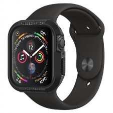 Чехол SPIGEN для Apple Watch 5 / 4 (44мм) - Rugged Armor - Черный - 062CS24469
