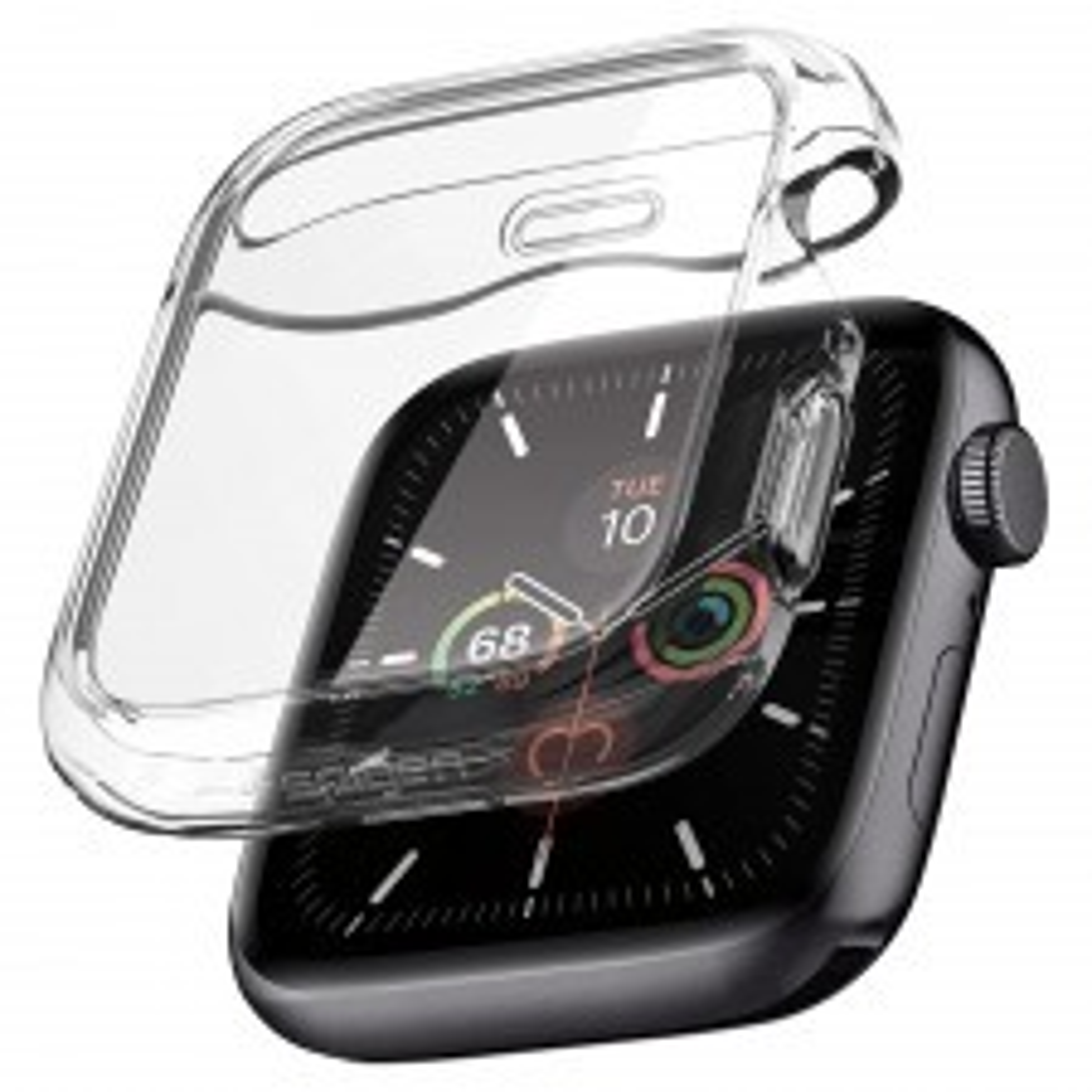 Чехол SPIGEN для Apple Watch Series 5 / 4 (44mm) - Ultra Hybrid - Прозрачный - ACS00428