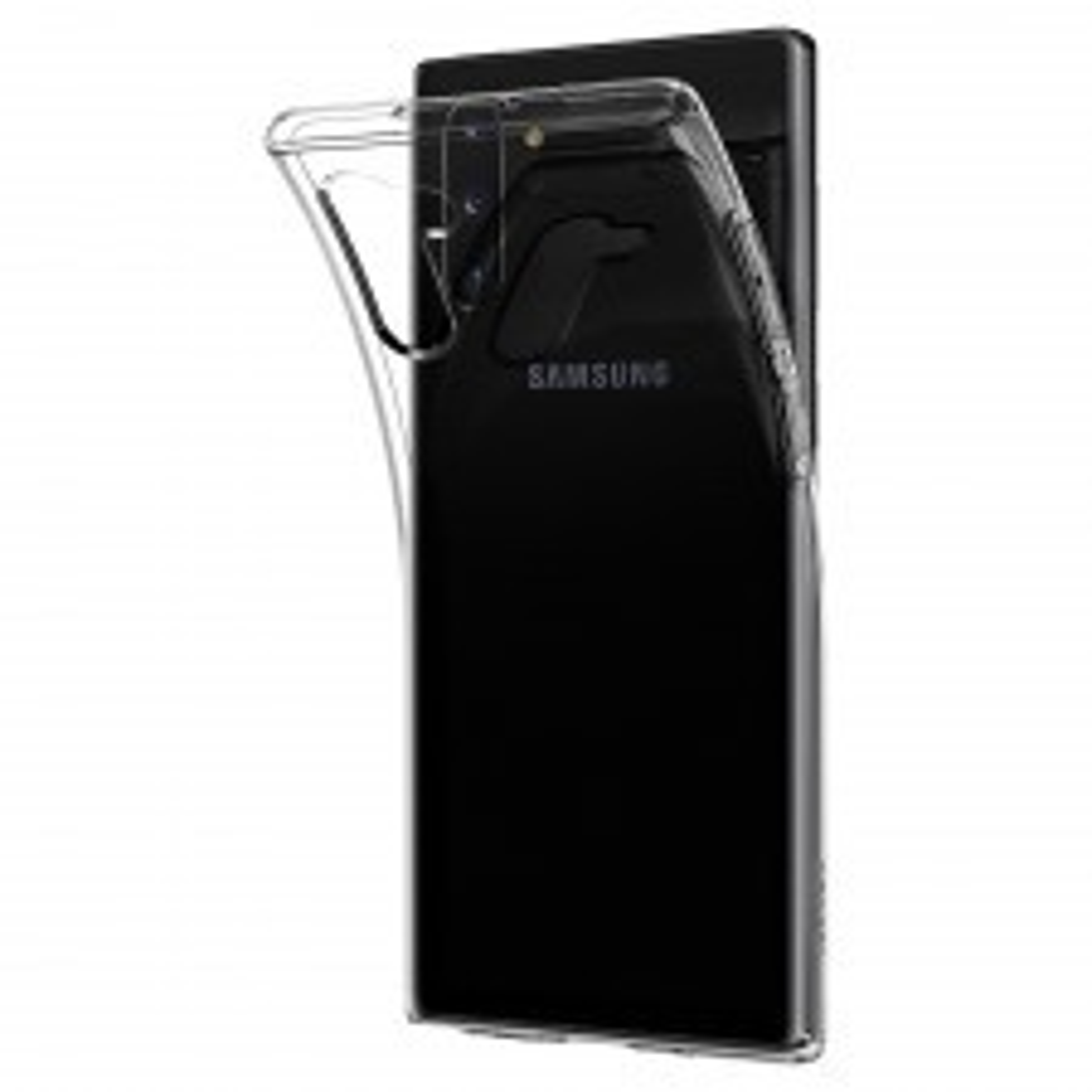 Чехол SPIGEN для Galaxy Note 10 - Crystal Flex - Прозрачный - 628CS27407