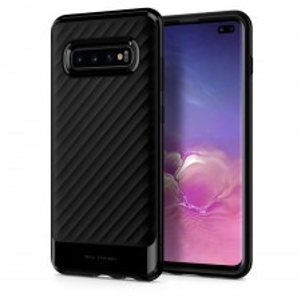 Чехол SPIGEN для Galaxy S10 Plus - Neo Hybrid - Черный - SGP-606CS25773