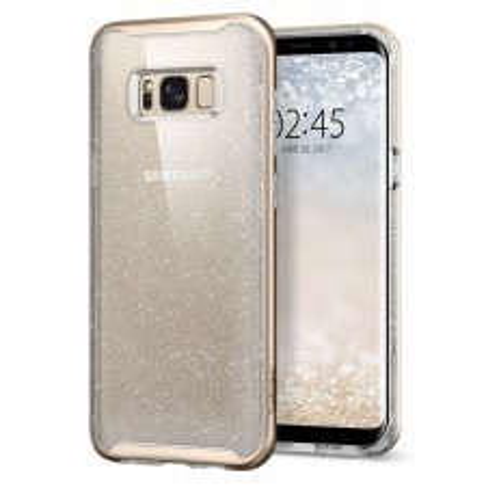 Чехол SPIGEN для Galaxy S8 - Neo Hybrid Crystal Glitter - Золотой кварц - SGP-565CS21606