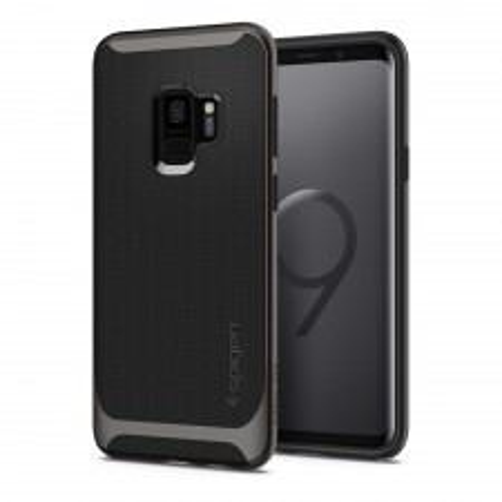 Чехол SPIGEN для Galaxy S9 - Neo Hybrid - Темно-серый - SGP-592CS22856