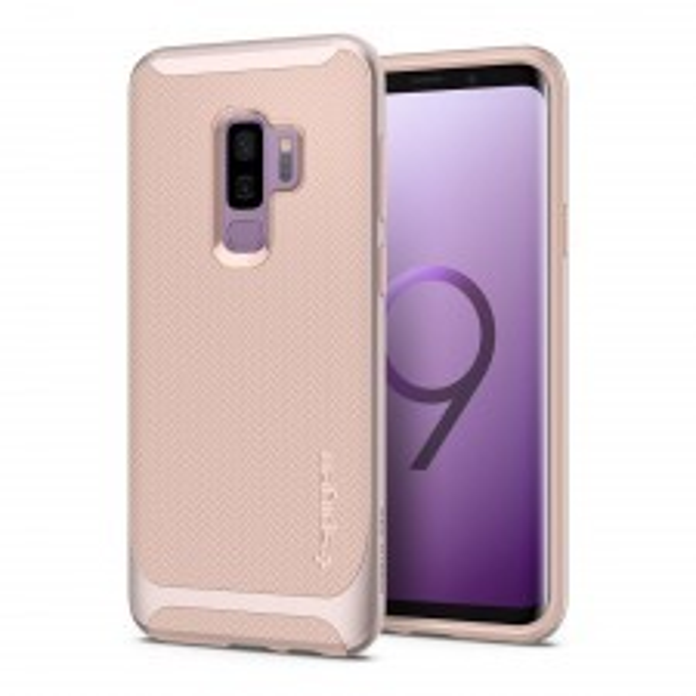 Чехол SPIGEN для Galaxy S9 Plus - Neo Hybrid - Светло-розовый - SGP-593CS22946
