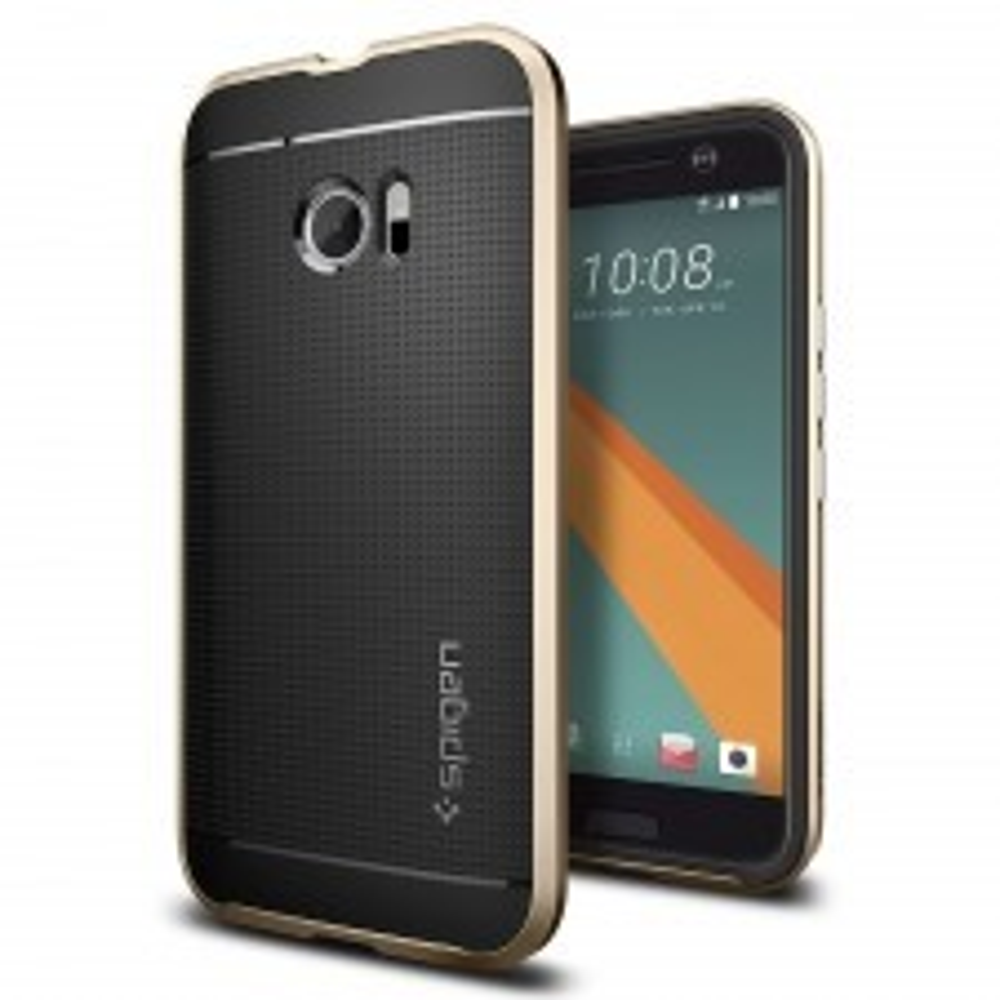 Чехол SPIGEN для HTC 10 - Neo Hybrid - Золотой - SGP-H09CS20289