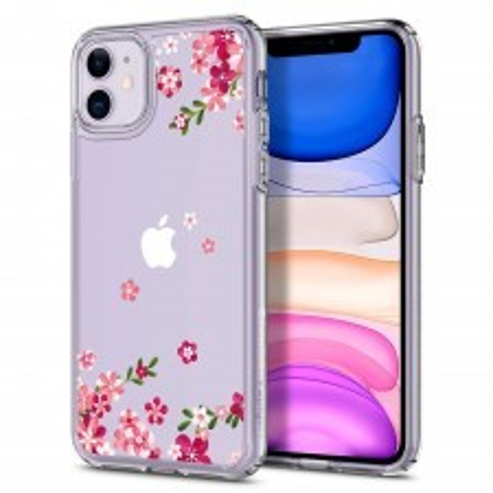 Чехол SPIGEN для iPhone 11 - Ciel by Cyrill - Cecile Cherry Blossom - 076CS27509