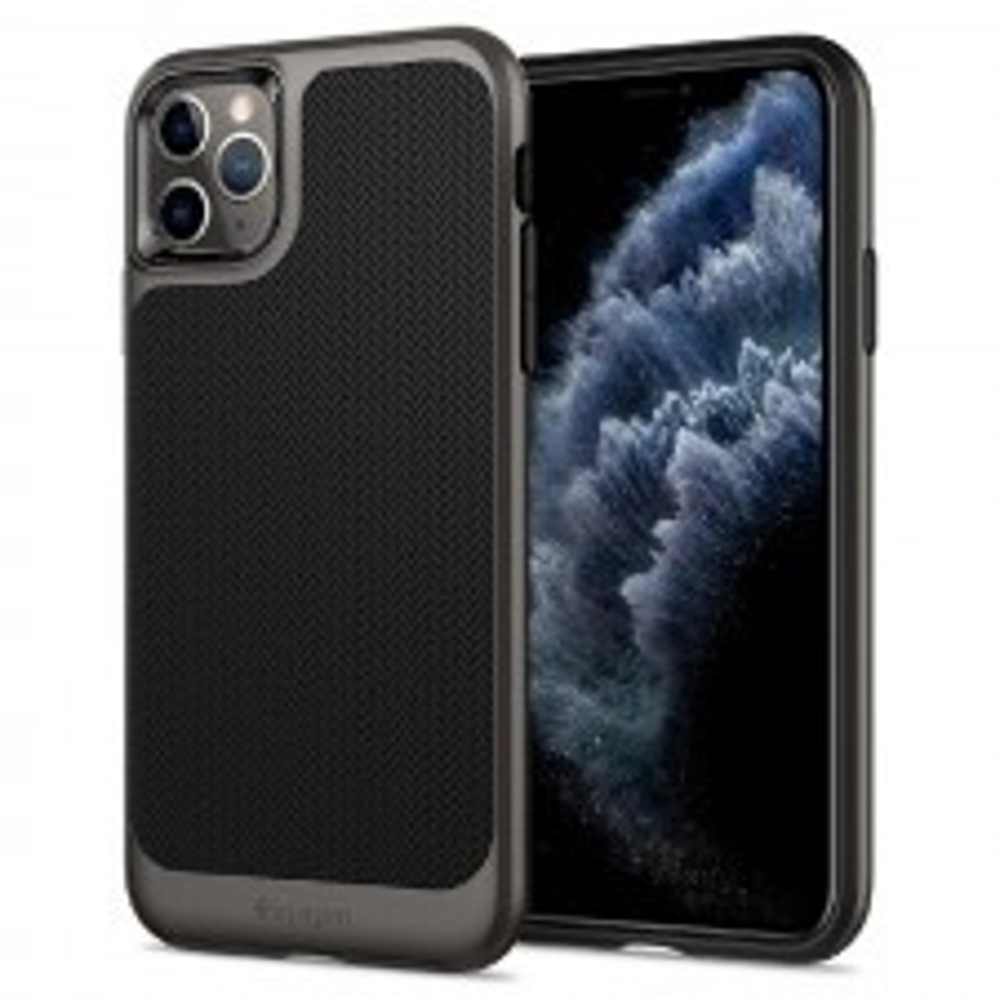 Чехол SPIGEN для iPhone 11 Pro - Neo Hybrid - Темно-серый - 077CS27243