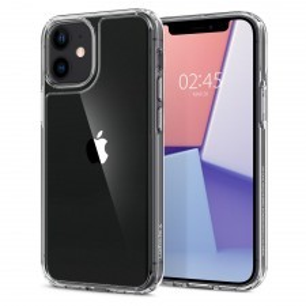 Чехол SPIGEN для iPhone 12 Mini - Quartz Hybrid - Прозрачный - ACS01748