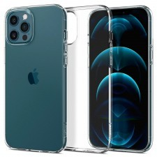 Чехол SPIGEN для iPhone 12 Pro Max - Liquid Crystal - Прозрачный - ACS01613