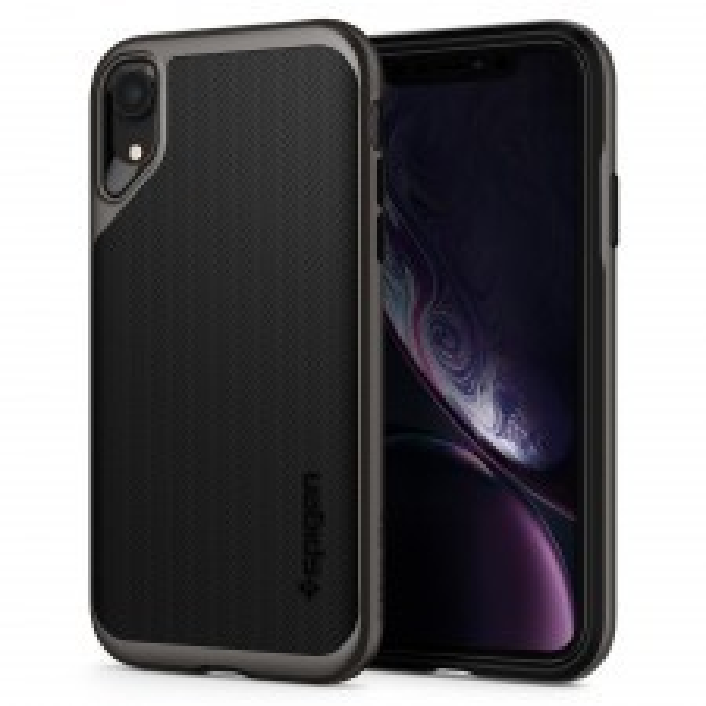 Чехол SPIGEN для iPhone XR - Neo Hybrid - Темно-серый - SGP-064CS24878