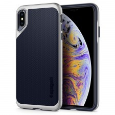 Чехол SPIGEN для iPhone XS Max - Neo Hybrid - Серебристый - SGP-065CS24840