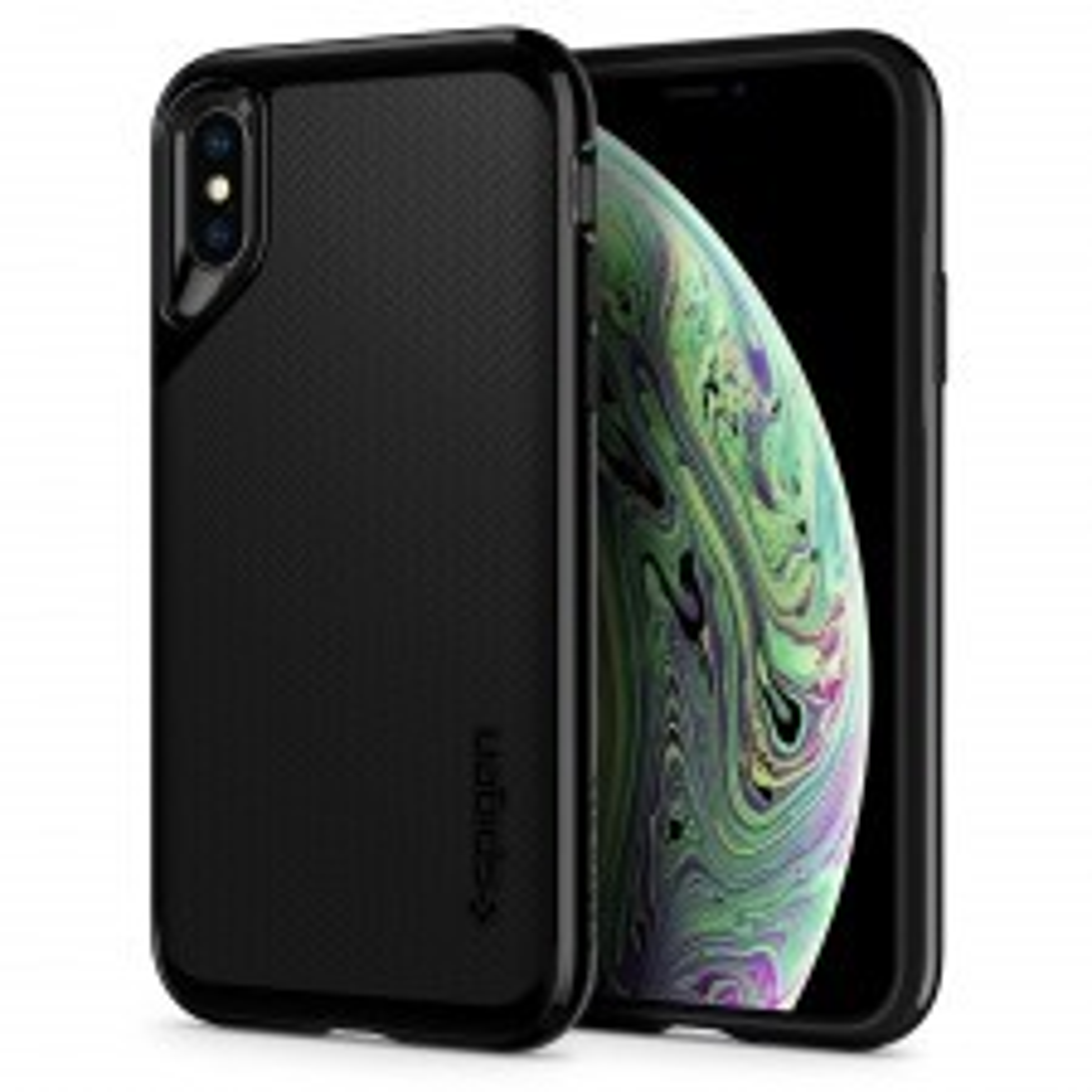 Чехол SPIGEN для iPhone X / XS - Neo Hybrid - Черный Оникс - SGP-063CS24919
