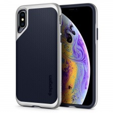 Чехол SPIGEN для iPhone X / XS - Neo Hybrid - Серебристый - SGP-063CS24920