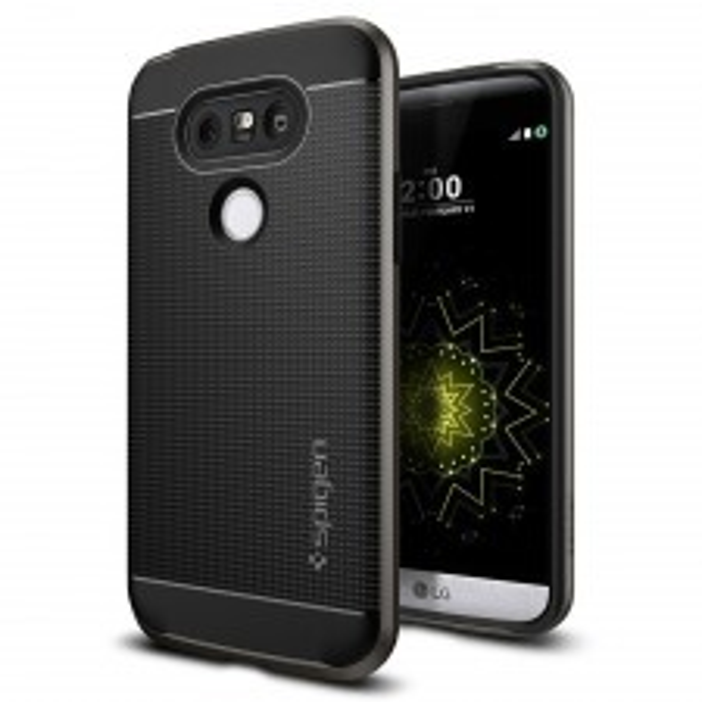 Чехол SPIGEN для LG G5 - Neo Hybrid - Темно-серый - SGP-A18CS20220