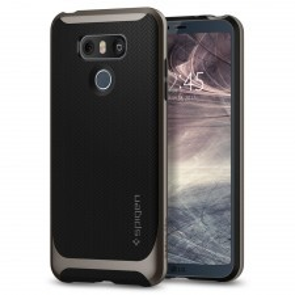 Чехол SPIGEN для LG G6 - Neo Hybrid - Темно-серый - SGP-A21CS21236