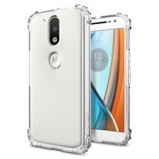 Чехол SPIGEN для Motorola Moto G4 / G4 Plus - Crystal Shell - Прозрачный - SGP-M01CS20579
