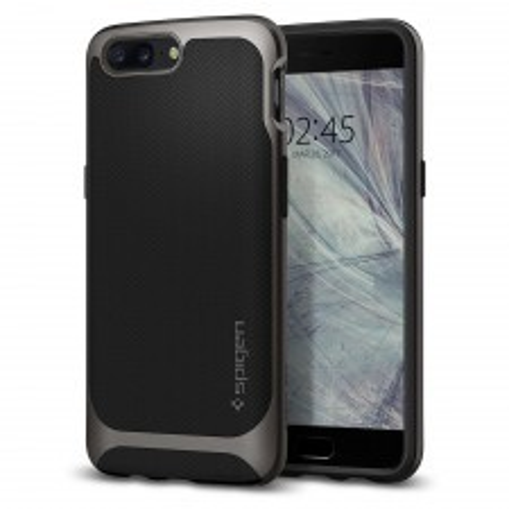 Чехол SPIGEN для OnePlus 5 - Neo Hybrid - Темно-серый - SGP-K04CS21515
