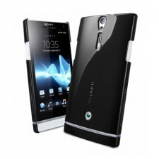 Чехол SPIGEN для Sony Xperia S - Ultra Thin - Черный - SGP09129