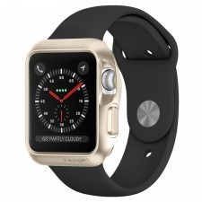 Чехол SPIGEN для Apple Watch 3 / 2 / 1 (38мм) - Slim Armor - Золотой - SGP11492
