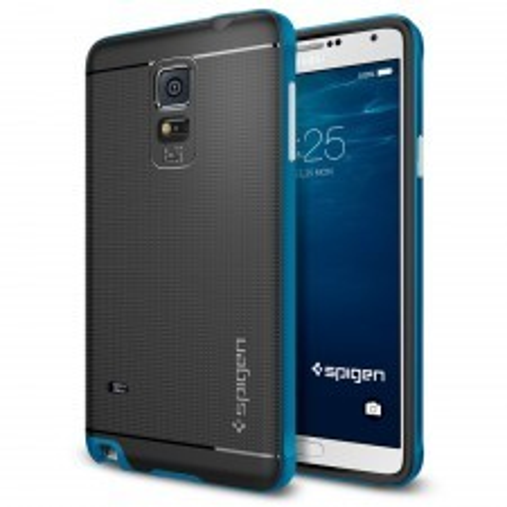 Чехол SPIGEN для Galaxy Note 4 - Neo Hybrid - Синий - SGP11121
