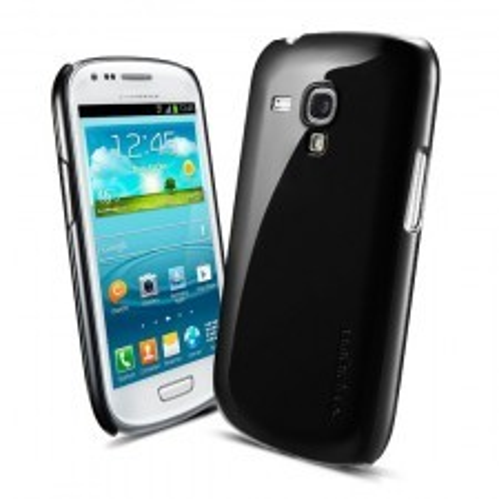 Чехол SPIGEN для Galaxy S3 mini - Ultra Thin Air - Черный - SGP10105