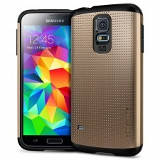 Чехол SPIGEN для Galaxy S5 - Slim Armor - Золотой - SGP10754