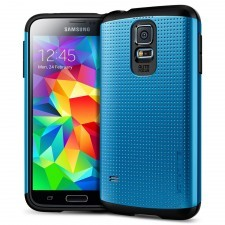 Чехол SPIGEN для Galaxy S5 - Slim Armor - Синий - SGP10753