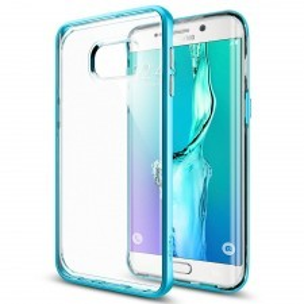 Чехол SPIGEN для Galaxy S6 Edge Plus - Neo Hybrid Crystal - Синий - SGP11718
