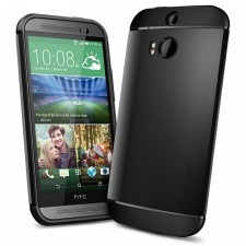 Чехол SPIGEN для HTC One M8 - Slim Armor - Черный - SGP10813