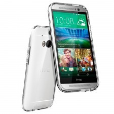 Чехол SPIGEN для HTC One M8 - Ultra Fit Capsule - Прозрачный - SGP10810