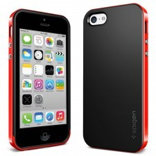 Чехол SPIGEN для iPhone 5c - Neo Hybrid - Красный - SGP10510