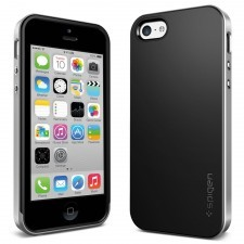 Чехол SPIGEN для iPhone 5c - Neo Hybrid - Серебристый - SGP10508