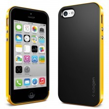 Чехол SPIGEN для iPhone 5c - Neo Hybrid - Желтый - SGP10521
