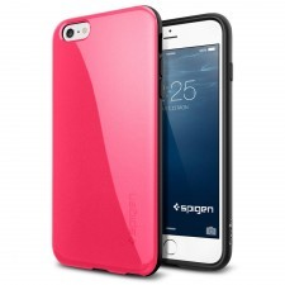 Чехол SPIGEN для iPhone 6s Plus / 6 Plus - Capella - Ярко-розовый - SGP11184
