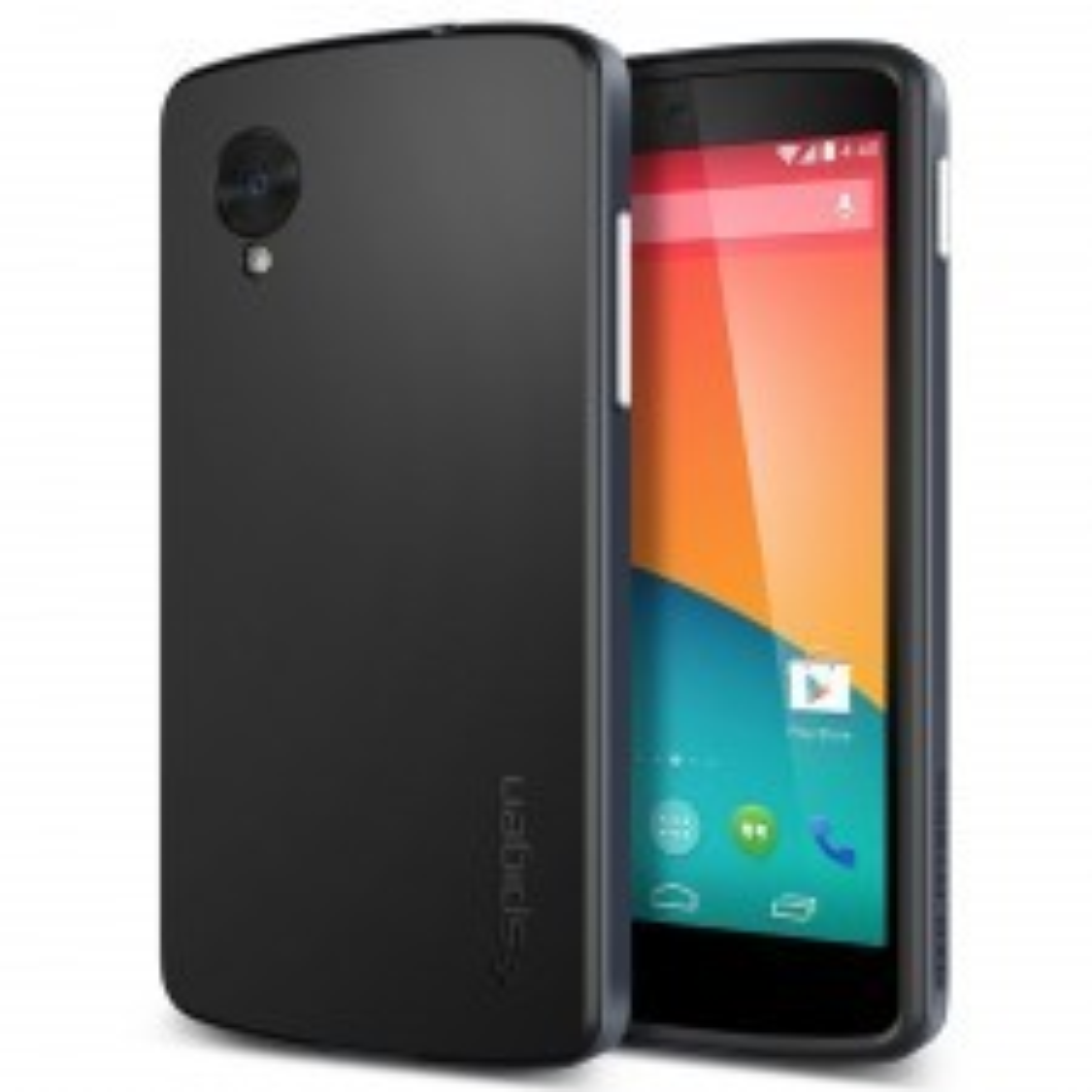 Чехол SPIGEN для Nexus 5 - Neo Hybrid - Синевато-серый - SGP10562