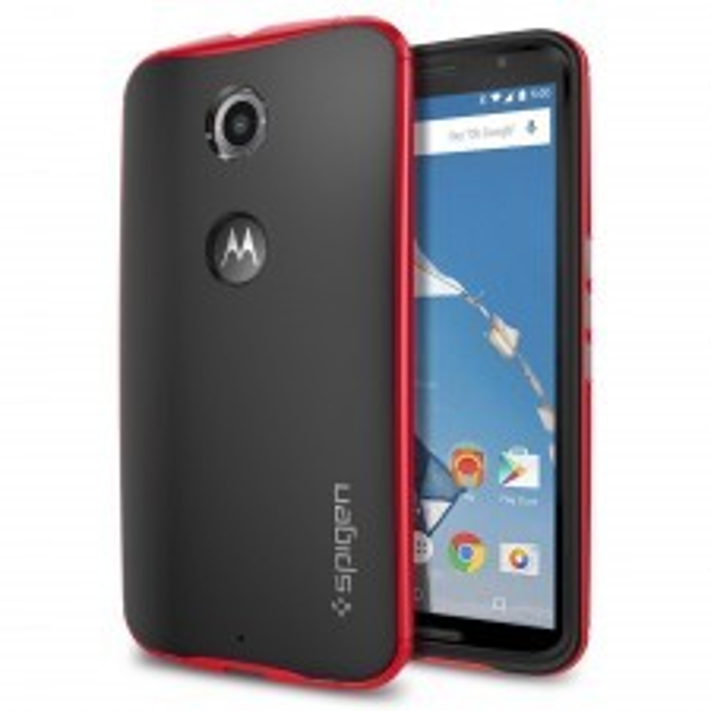 Чехол SPIGEN для Nexus 6 - Neo Hybrid - Красный - SGP11240