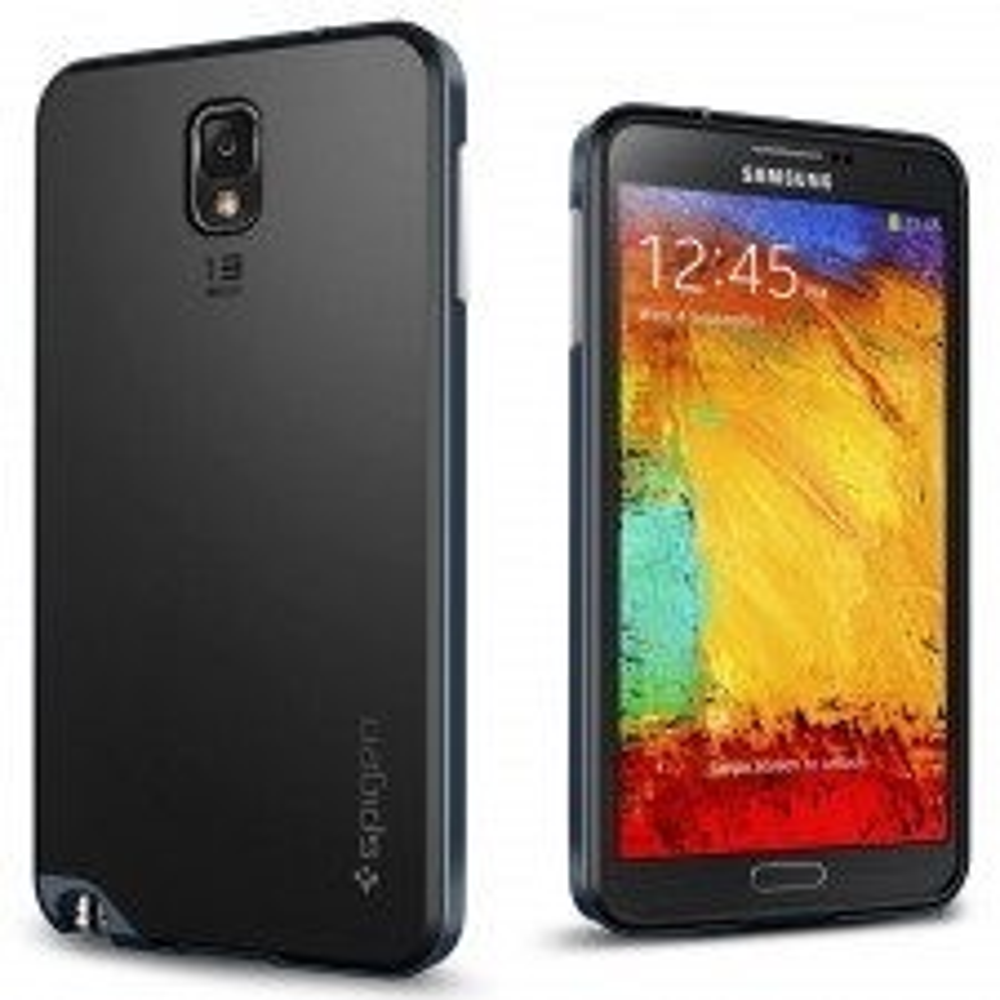Чехол SPIGEN для Samsung Galaxy Note 3 - Neo Hybrid - Синевато-серый - SGP10452