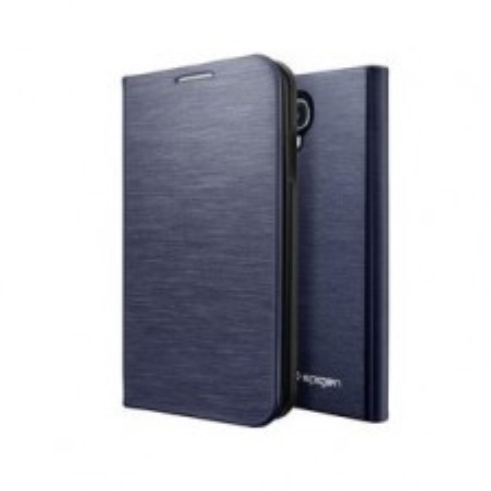 Чехол SPIGEN для Samsung Galaxy S4 - Slim Wallet - Синий - SGP10285